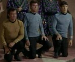 Star Trek kneeling