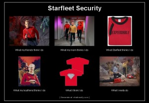 Redshirts What I Really Do