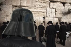 Vader at Wailing Wall