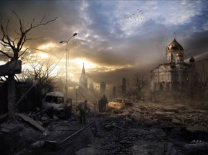 post-apocalyptic church