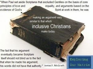 Paul and inclusiveness