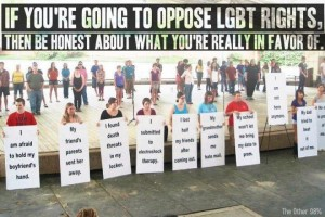 What Opposing LGBT Rights Actually Stands For