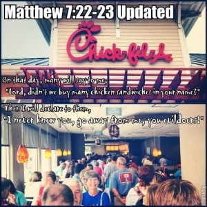 Matthew 7 Updated