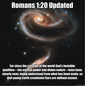 Romans 1.20 Updated