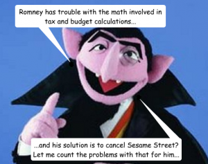 The Count addresses Romney