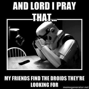 praying stormtrooper