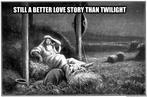 Ruth, Boaz, Twilight