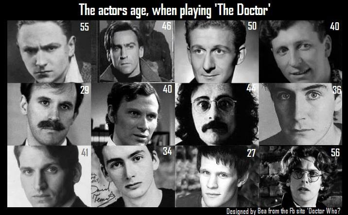 who was the first actor to play doctor who