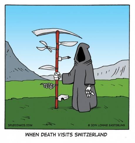 The Swiss Reaper James Mcgrath