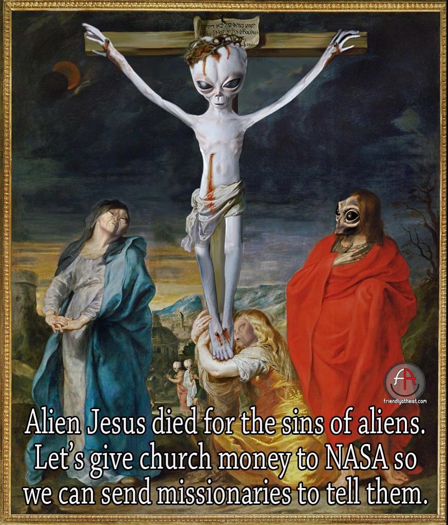 jesus and the aliens