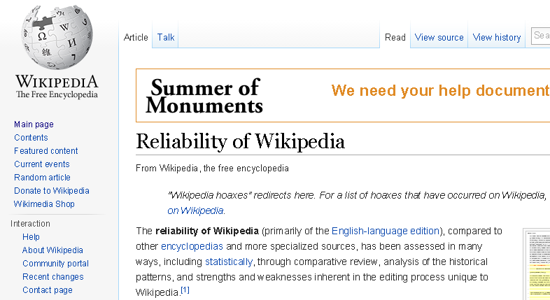 is wikipedia reliable This feature is not available right now please try again later.