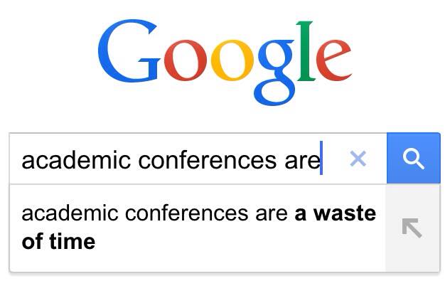 academic conferences are