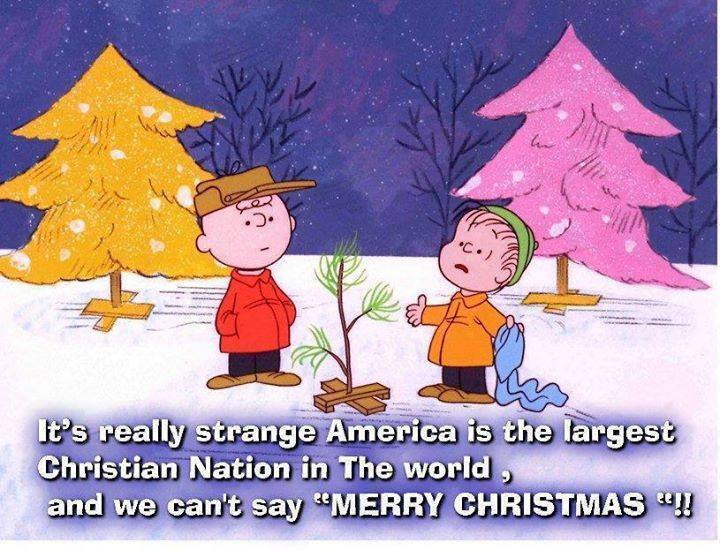 Too much freedom still not enough for Why is it merry christmas and not happy christmas