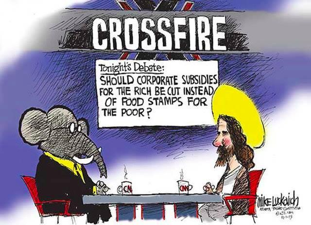 Jesus food stamps subsidies