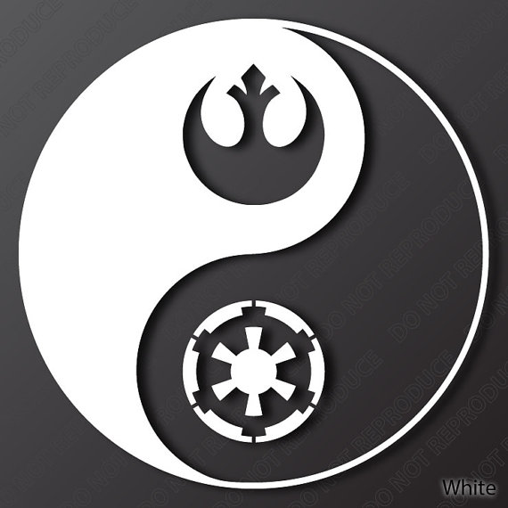 Star Wars Yin Yang James Mcgrath