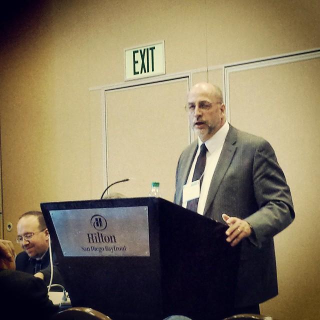 Metacriticism SBL 2014 Christopher Rollston speaking