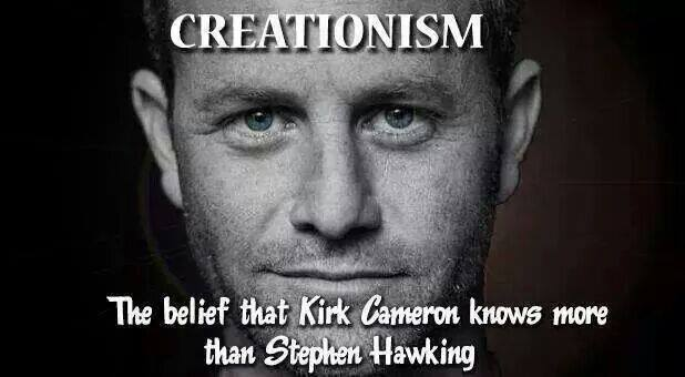 Creationism Defined Kirk Cameron best definition of young earth creationism ever
