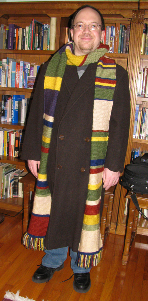 The Doctor Who Scarf is