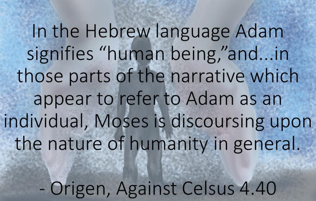 Origen on Adam