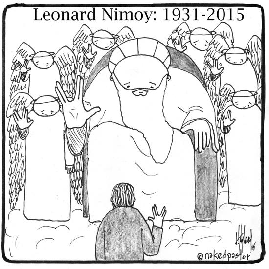 Leonard Nimoy Cartoon