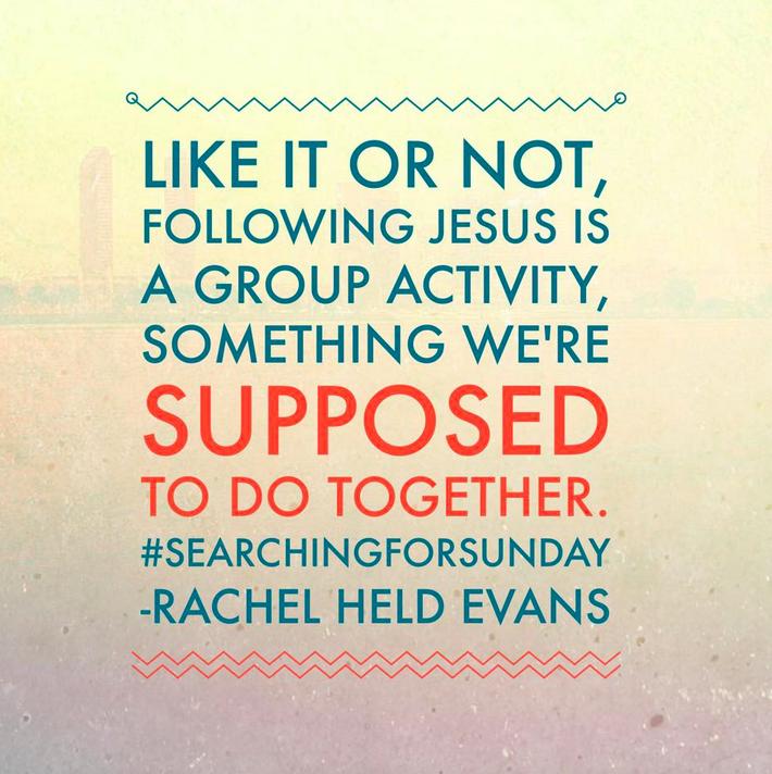 Following Jesus group activity
