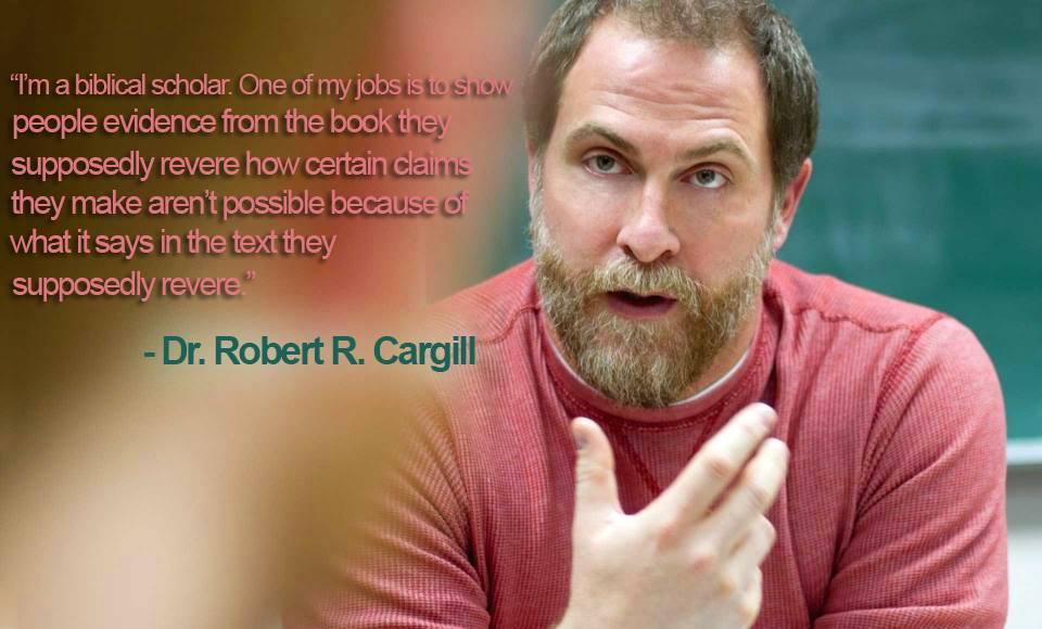 Bob Cargill Biblical Scholar