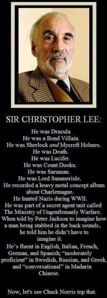 christopher lee fan