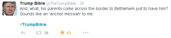 Trump Bible Anchor Messiah