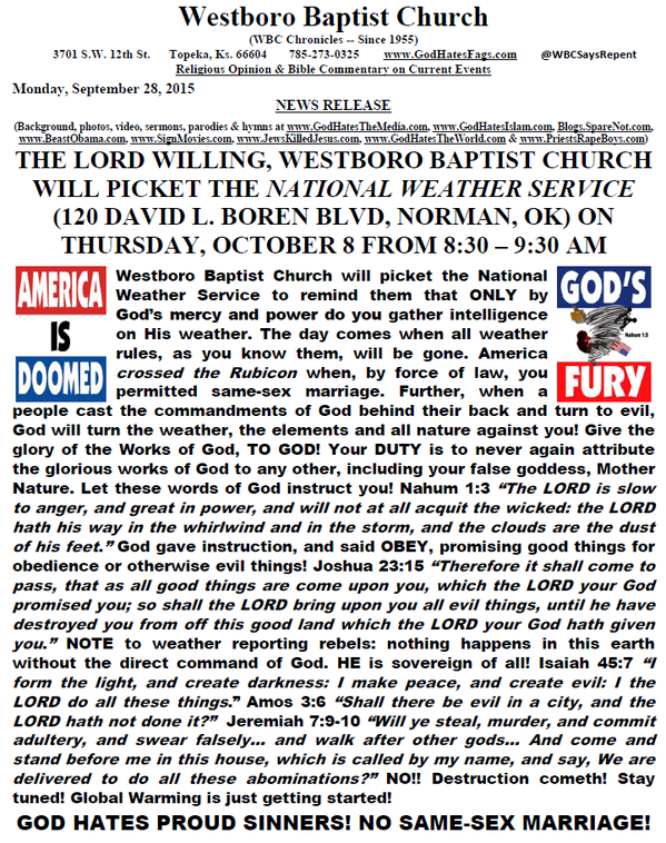 westboro christian singles An emblem that is commonly associated with anonymous  in february 2011, an open letter was published on anonnewsorg threatening the westboro baptist church,.