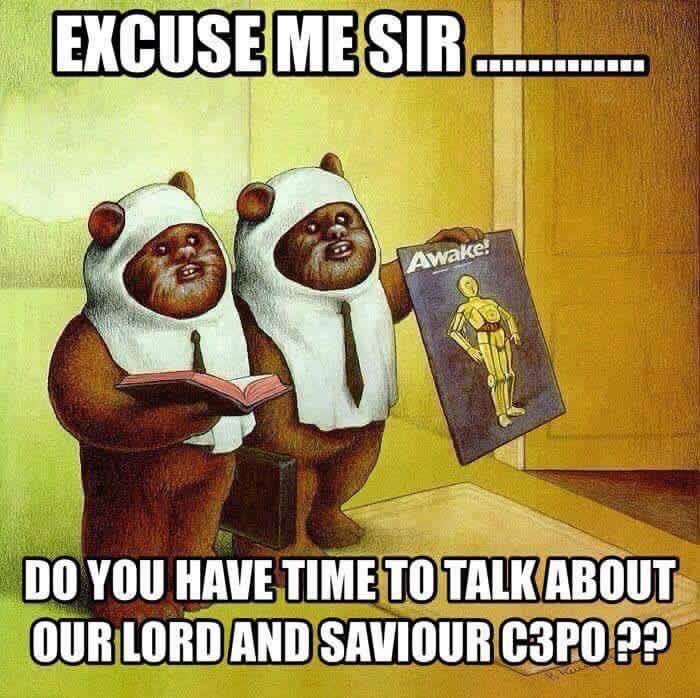 Ewoks Share Their Faith