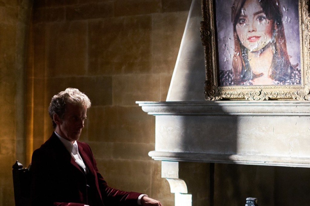 Doctor Who Heaven Sent Clara painting