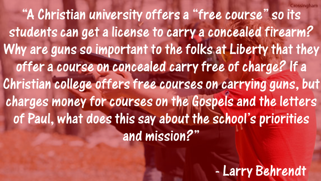 Liberty U Gun Course Quote