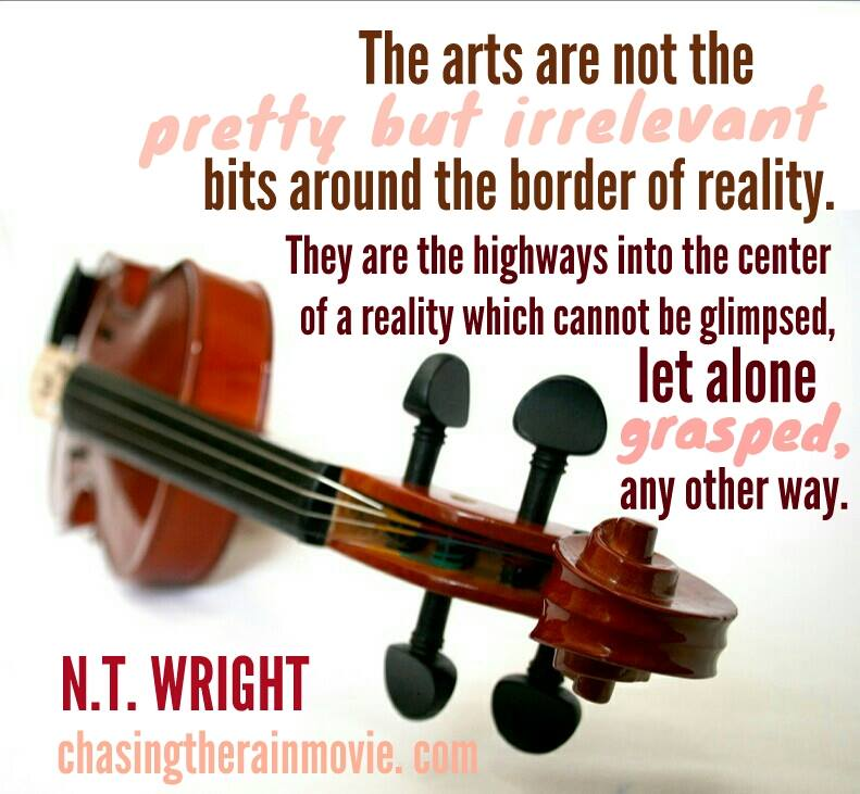 N T Wright The Arts