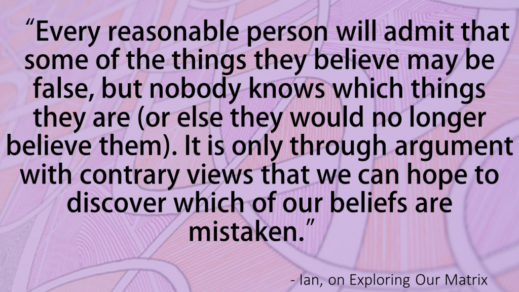 How to Discover When We're Mistaken