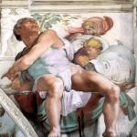 "Michelangelo's ""Jonah"" / Sistine Chapel"