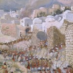 "Wiki: James Tissot, ""The Taking of Jericho"""