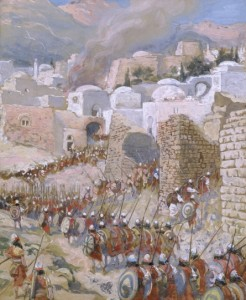 """Wiki: James Tissot, """"The Taking of Jericho"""""""