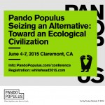 Pando Populus: New Paradigms for Saving the Earth