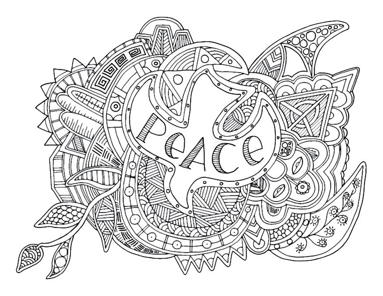 advent coloring pages for adults - photo#3