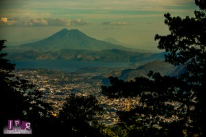 A view of San Salvador.