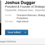 Josh Duggar's LinkedIn Page Shows Exactly How 'Qualified' He Is for His 'Job'