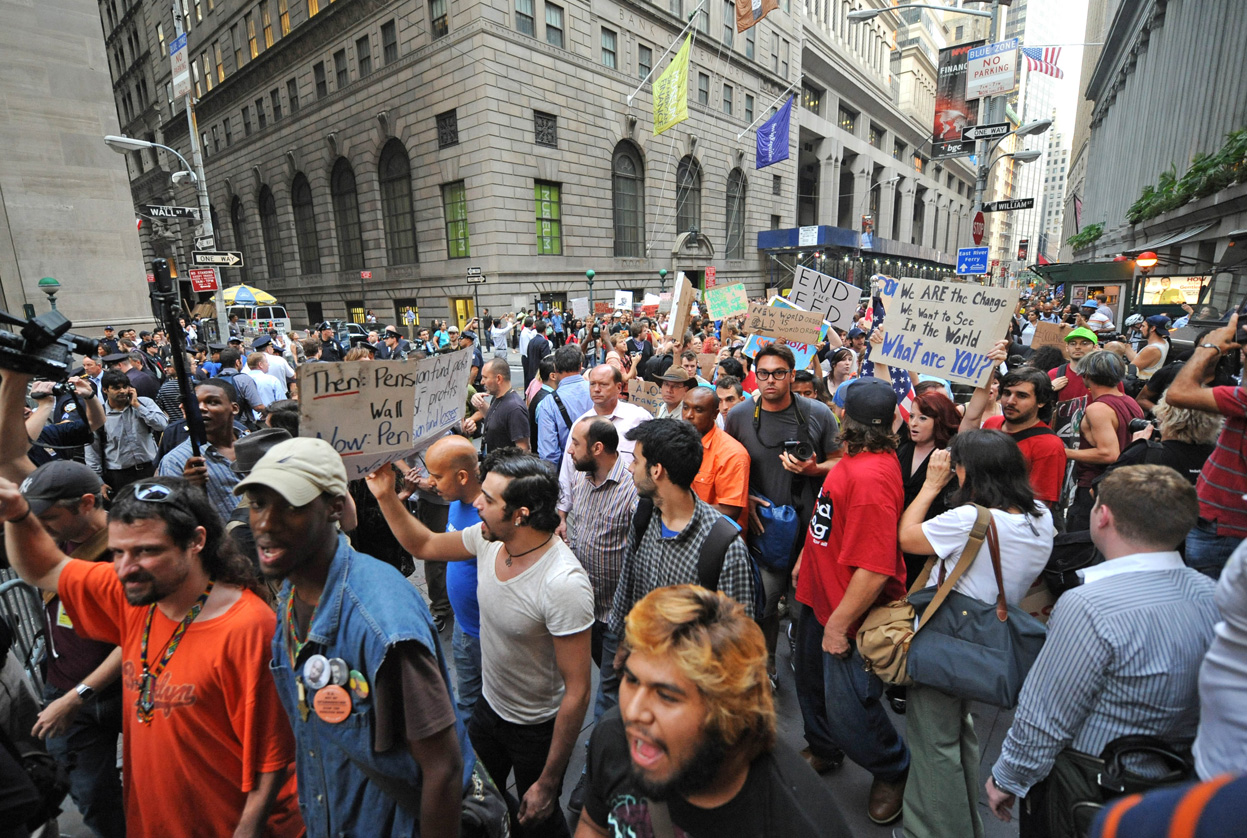 revolution working class and occupy wall Have laid the ground work for occupy wall street (ows) just as they have for   the negative effects of globalization through cultural revolution  build and  participate in a mass movement of people really capable of taking.
