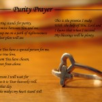 purity prayer
