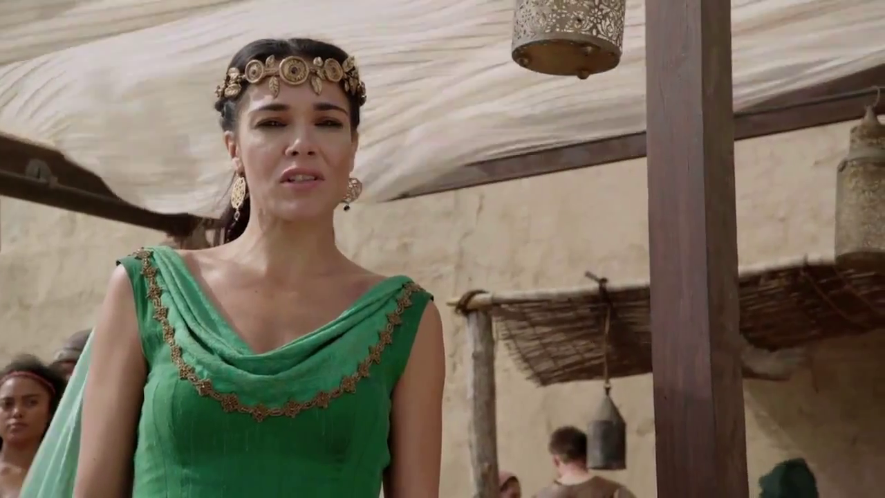Simone kessell of kings and prophets s1e05 - 4 3