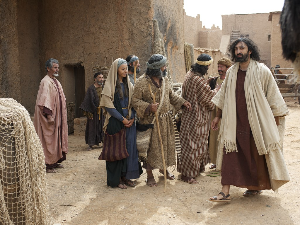 Day 11. Set: Syrian Village. Jesus Heals Two Blind Men. I am The Bread Of Life.