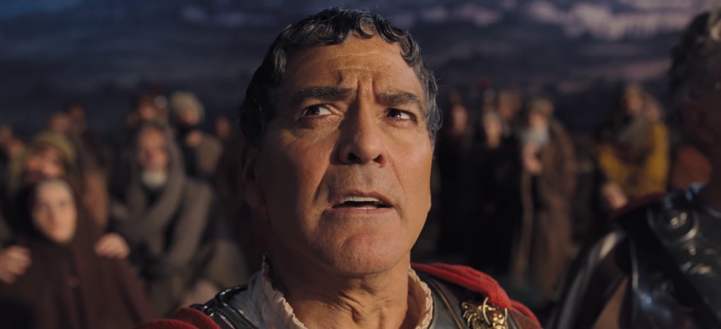 Watch: George Clooney stars in a Bible movie (sort of) in the trailer for the Coen brothers' new film <i>Hail, Caesar!</i>
