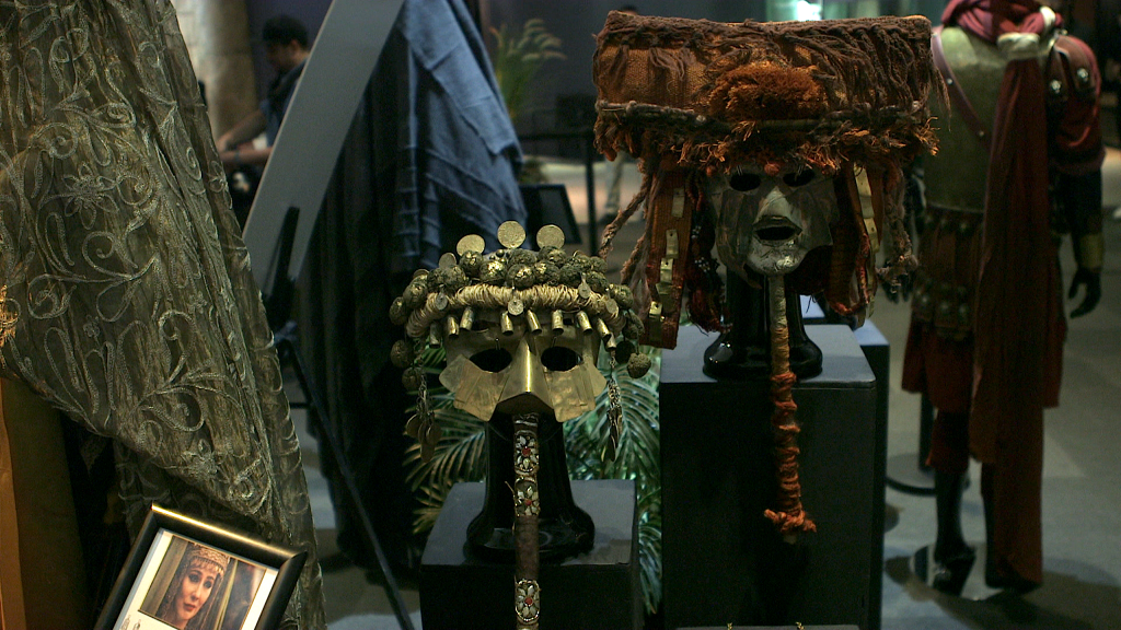 AD Costume Display at Passages - Masks