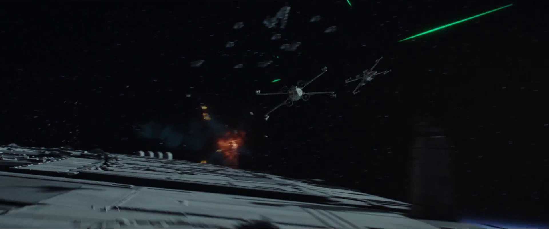Watch: Rogue One: A Star Wars Story has an actual space ...