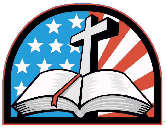 Bible and Flag