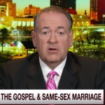 No, Mike Huckabee, Jesus Didn't Define Marriage.